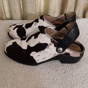 Ariat Cowhide Leather Mules Sz 7.5